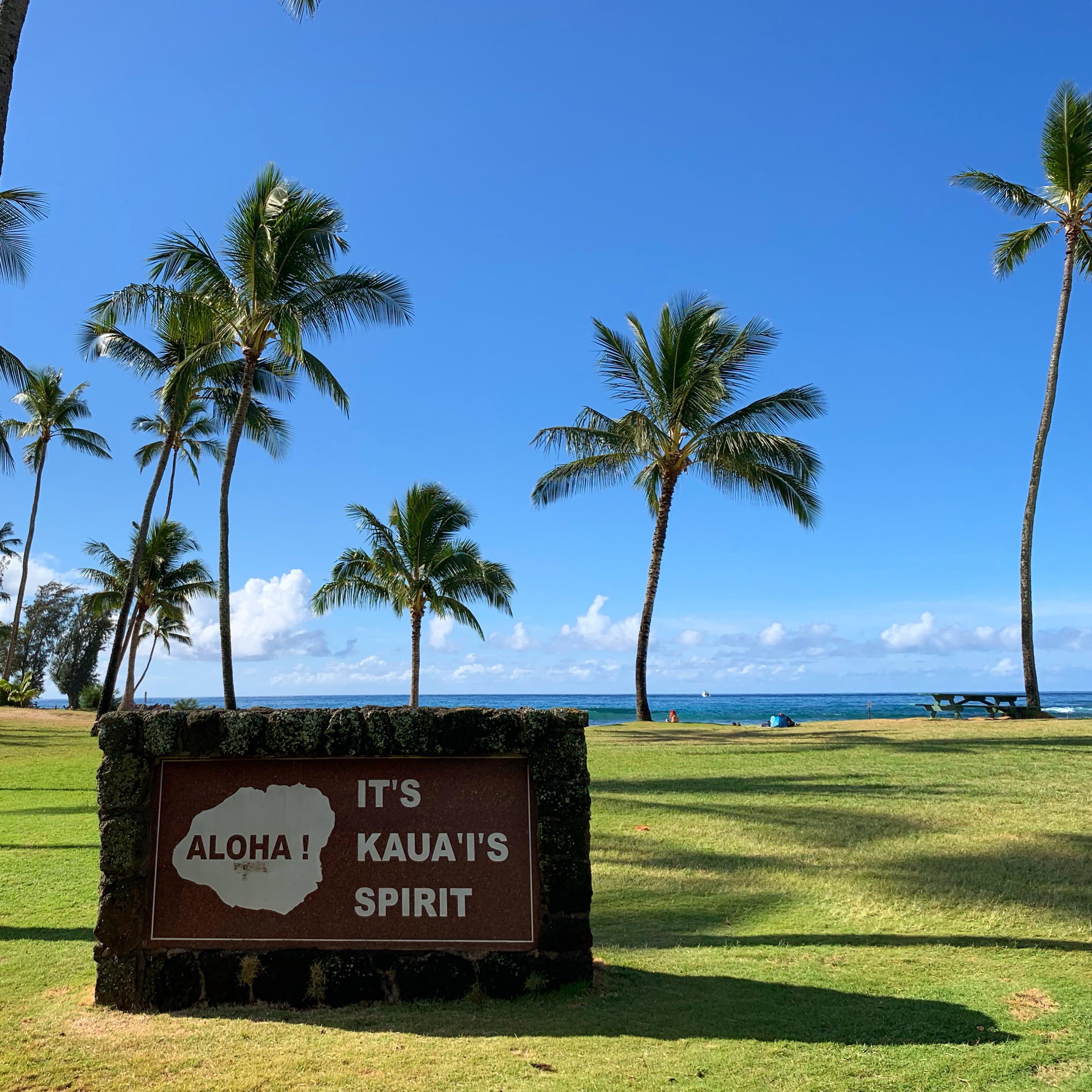 Aloha! It's Kaua'i's Spirit! (Poipu Beach Park)