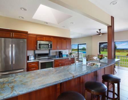 Kitchen at Poipu Wai Hale
