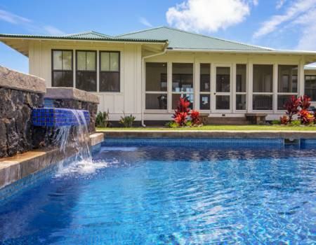 Poipu Dream Hale Swimming Pool Kauai Vacation