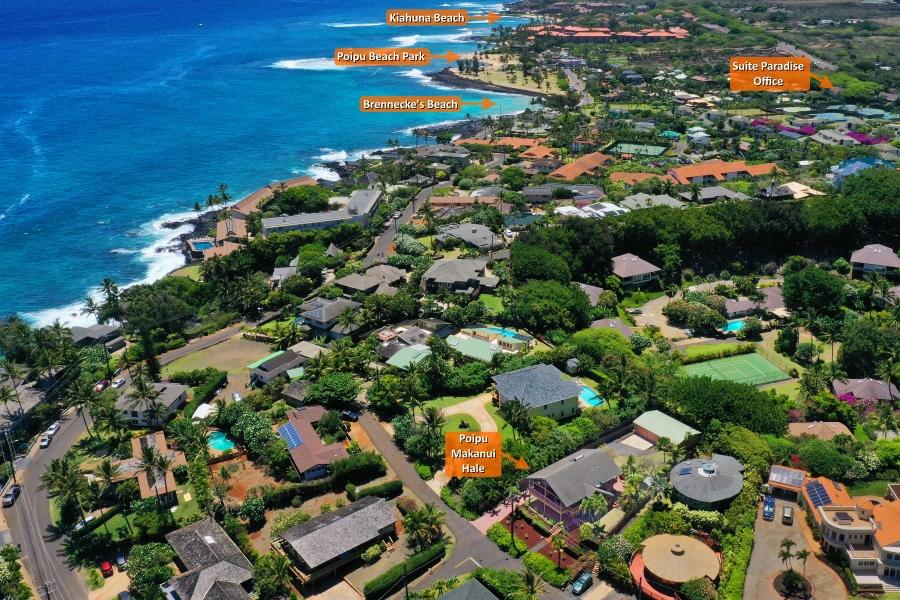 Poipu Makanui Hale Kauai