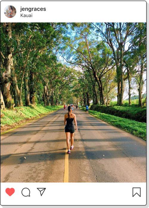 The Kauai Marathon Tunnel of Trees Koloa Poipu