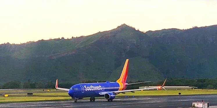 Southwest Airlines LIH Kauai Hawái